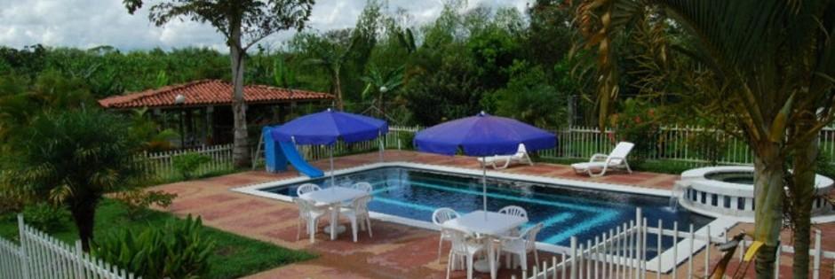 Piscina Fuente Finca Villa Mariana Fanpage Facebook