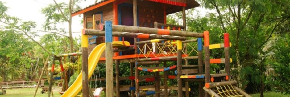 Zona de juegos Fuente Finca Villa Mariana Fanpage Facebook